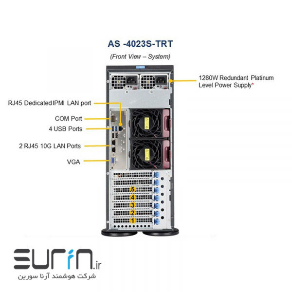 Supermicro SuperWorkstation 4023S-TRT